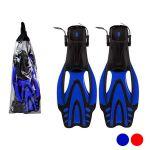 Barbatanas de Snorkel Adultos Pvc Azul