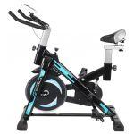 Bicicleta de Spinning Malatec Preta/Azul - 9644