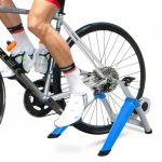HomCom Rolo de Bicicleta Dobrável Ajustável Vermelho e Preto - AA0-074