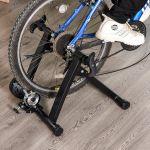 HomCom Rolo para Bicicleta Dobrável Preto - AA0-080