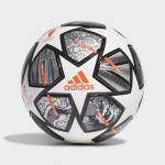 Adidas Bola League Júnior 350 UCL 20th Anniversary Finale 21 White / Iron Metallic / Silver Metallic 5 - GK3481-0002-5