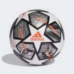 Adidas Bola League UCL 20th Anniversary Finale 21 White / Iron Metallic / Silver Metallic 5 - GK3468-0002-5