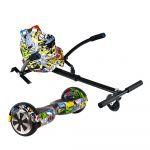 Storex Hoverboard UrbanGlide 65 Lite + Kart Pilot Multicor