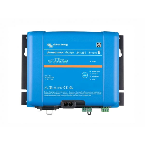 Victron Carregador de Bateria Phoenix Smart IP43 24/25 (3)