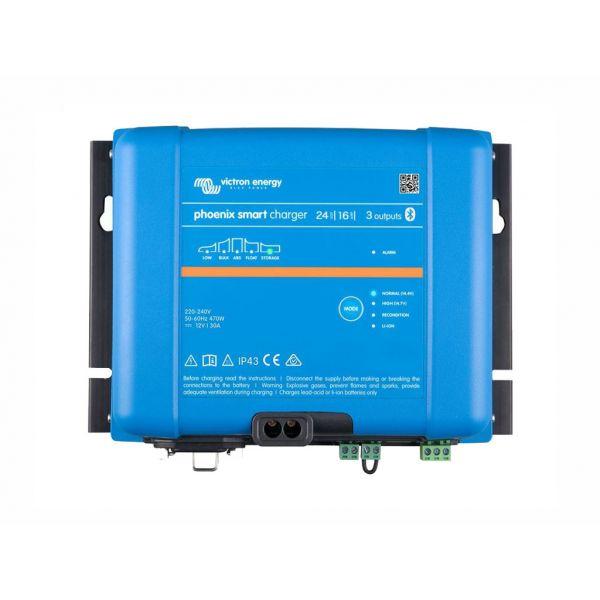 Victron Carregador de Bateria Phoenix Smart IP43 24/16 (3)