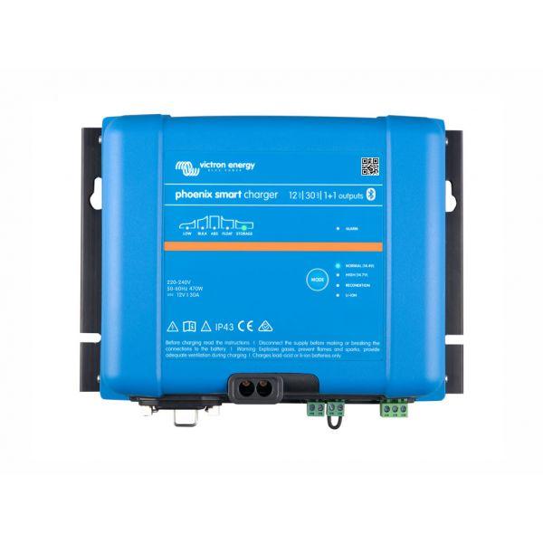 Victron Carregador de Bateria Phoenix Smart IP43 12/30 (1+1)