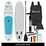 In.tec Prancha Stand Up Paddle 10' 305 x 71 x 10cm Turquesa (Kit Completo SUP)