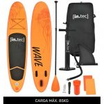 In.tec Prancha Stand Up Paddle 10' 305 x 71 x 10cm Laranja (Kit Completo SUP)