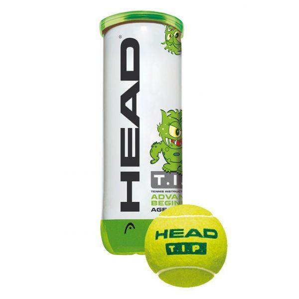 Head Bolas Ténis Tip Green 3 Balls