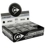 Dunlop Bolas Squash Competition 12 Ball Black - 700112