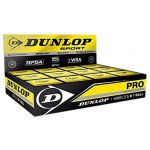 Dunlop Bolas Squash Pro 12 Ball Black - 700108