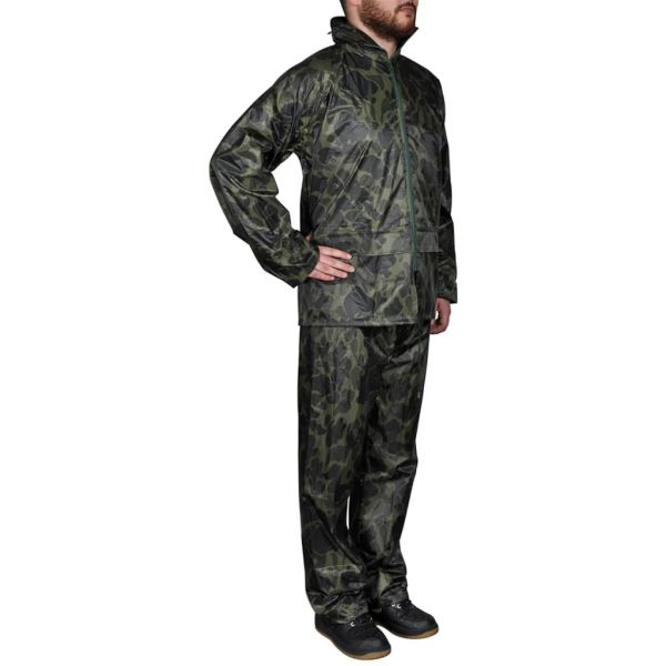 Fato Waterproof Camuflagem L
