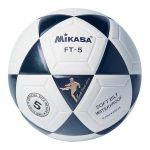 Mikasa Bola Futebol Ft-5 White / Black - 130017-012-5