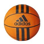 Adidas Bola Basquetebol 3 Stripes Mini Orange/ Black - X53042/3