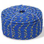 Corda Náutica em Polipropileno 10 mm 50 m Azul - 91296