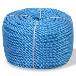Corda Torcida em Polipropileno 10 mm 100 M Azul - 91305