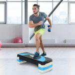 HomCom Step de Aeróbica e Fitness - A90-077BU