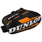 Dunlop Saco para Raquetes de Padel Thermo Play Black / Orange