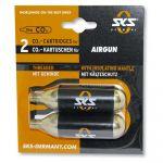 Sks Bomba de Ar 2 Cartridges Co2 16 Grs. Airgun