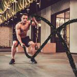 Homcom Battle Rope Corda Exercício Fitness
