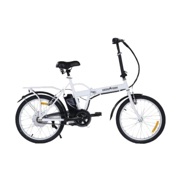 LSM7 Bicicleta Elétrica 250w Branca - S-067