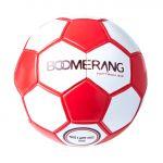 Boomerang Bola de futebol de treino Hat-trick Branco / Vermelho