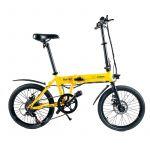 Sk8 Urban Bicicleta Eléctrica Urban Nomad Yellow