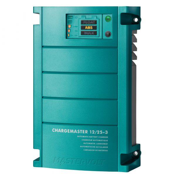 Mastervolt Carregador Bateria ChargeMaster 25 Amp 3 Bank, 12V - 44010250