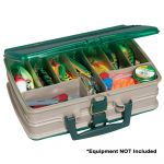 Plano Double-Sided 20-Compartment Satchel Sandstone/Green - 112000