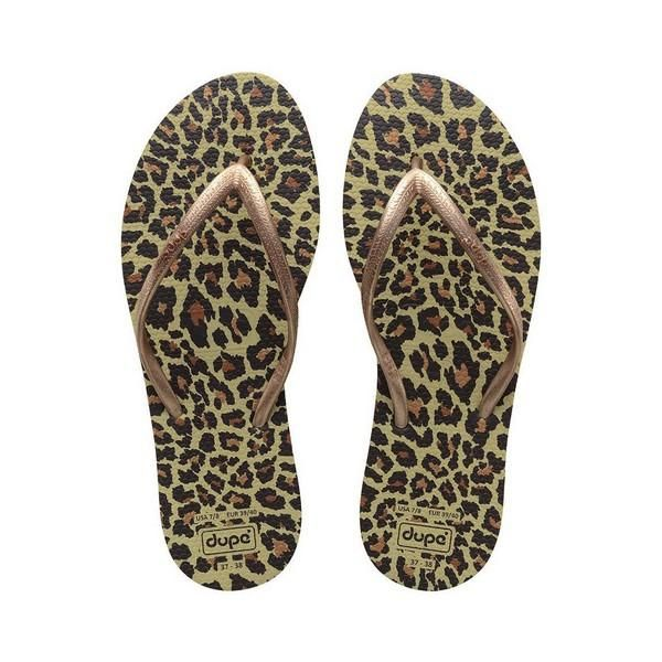 Dupé Chinelos para Mulher Exotica Leopardo - 37-38