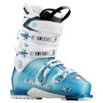 Lange Botas de Ski Xt 90 Woman 12/13 Transp. Blue / White - LB27120.22.5