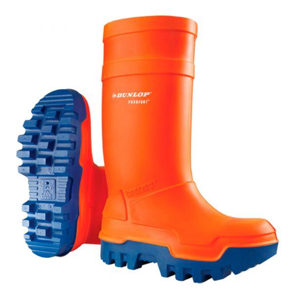 Dunlop Botas Purofort Thermo + Full Safety Laranja - MFP019B0033
