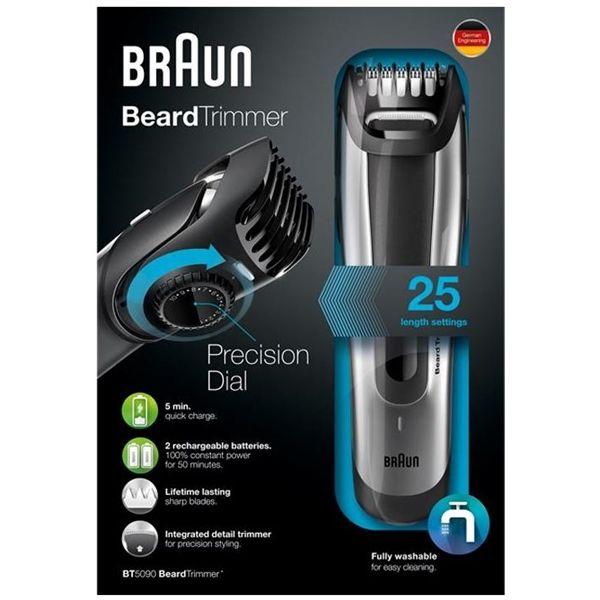 Adesivo Idoso Detran ~ Braun Aparador de Barba BT5090 BeardTrimmer Comparador de preços