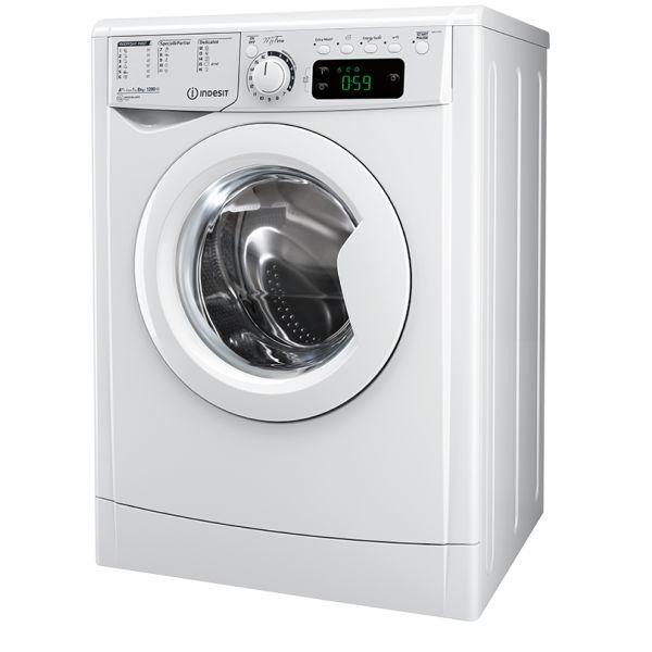 Máquina de Lavar Roupa Indesit EWE 81283 W EU - 8Kg 1200RPM A+++