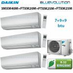 Daikin Multi Split 3MXM40N + 2x FTXM25M + FTXM20M