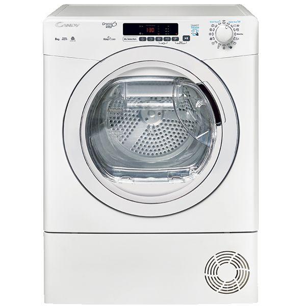 Máquina de Secar Roupa Candy GVS C8DE-S White - 8Kg B