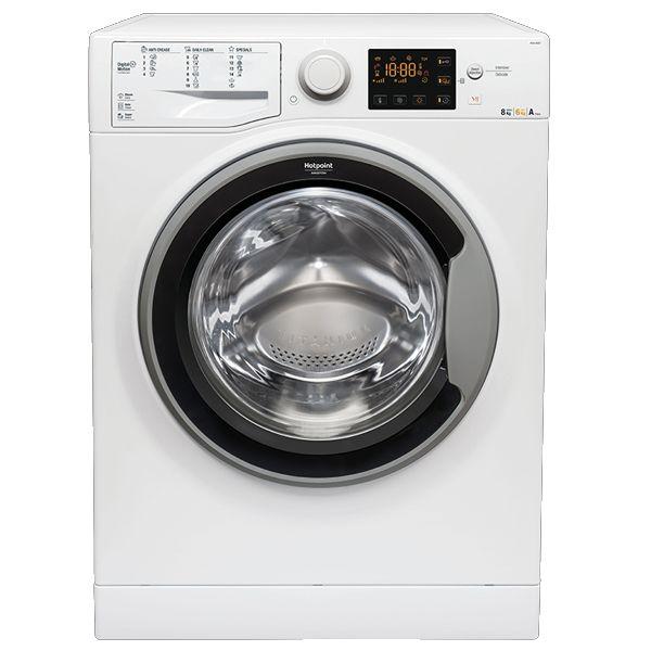 Máquina de Lavar e Secar Roupa Hotpoint RDSG86207SEU