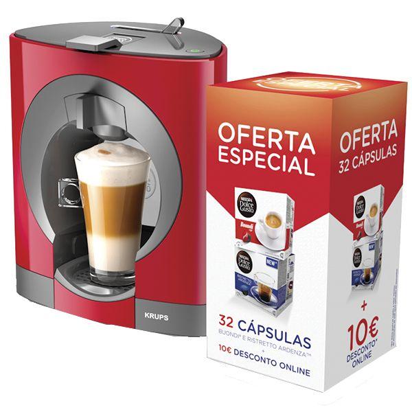 Krups dolce gusto oblo red kp1105p6 embalagem 32 c psulas comparador de pre os - Dolce gusto oblo rouge ...