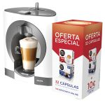 Krups Dolce Gusto Oblo White KP1101P6 + pack 2x 16 Cápsulas