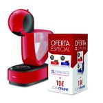 Krups Dolce Gusto Infinissima Red KP1705P7 + pack 2x 16 Cápsulas
