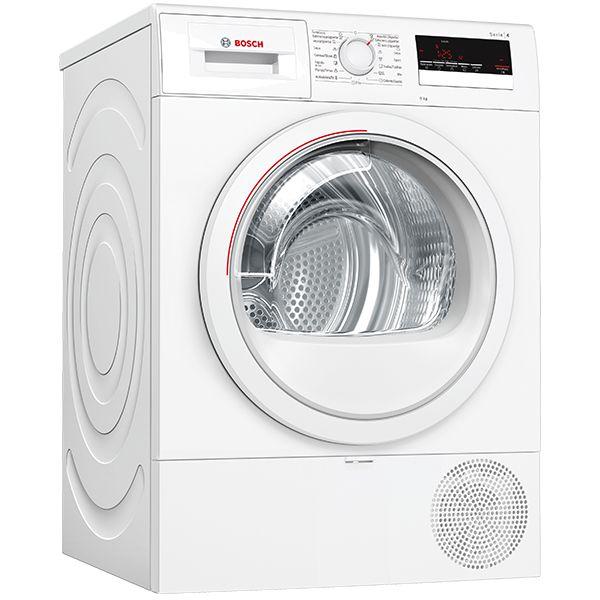 Máquina de Secar Roupa Bosch WTR85V90ES White - 8Kg A++