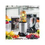 Innova Goods Liquidificadora com Livro de Receitas One Touch 250W Cinzenta - V0100514