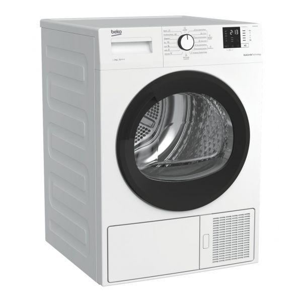 Máquina de Secar Roupa Beko DHA 8512 RX White - 8Kg A+++