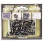 Velleman Kit de 120 Condensadores Eletrolíticos