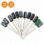 Kit de 120 Condensadores Electrolíticos