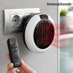 Innova Goods Aquecedor Cerâmico de Parede com Comando à Distância - V0101134
