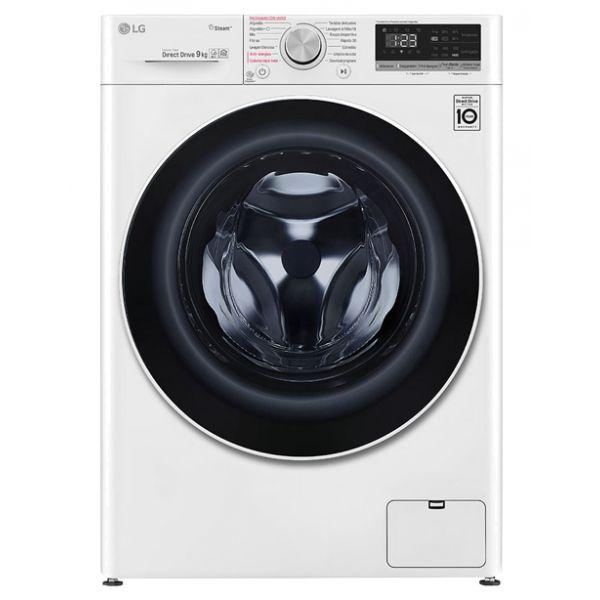Máquina de Lavar Roupa LG F4WN409S0 White