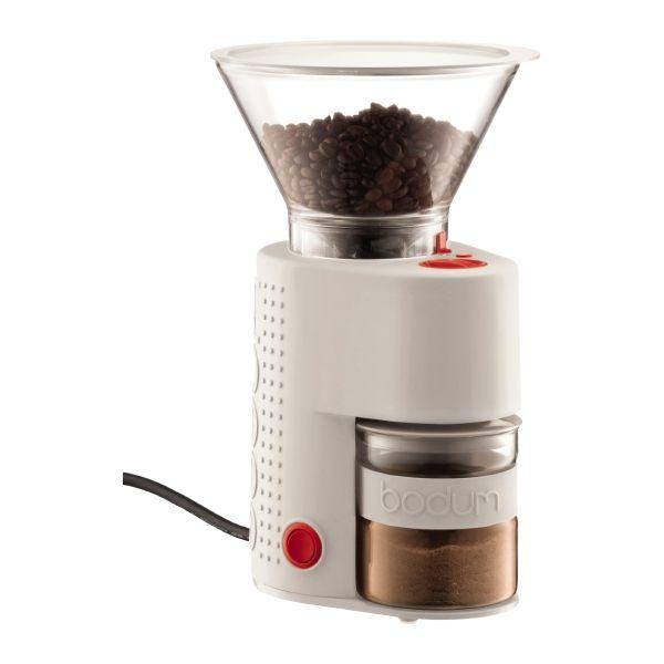 Bodum Moinho De Café Eléctrico Bistro White