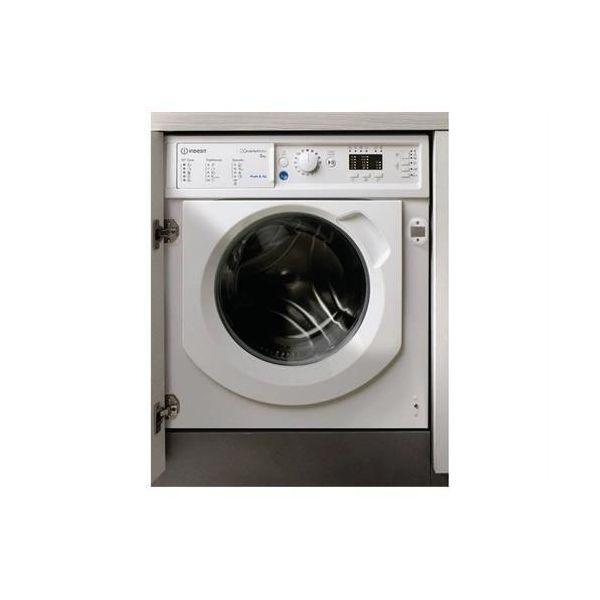 Indesit Encastre BI WMIL 81284 White - 8kg 1200RPM A+++