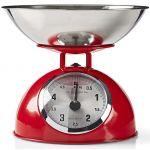 Nedis Balança Cozinha Max 5Kg KASC110RD Red